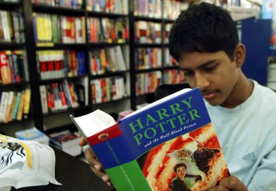 Leitura de Harry Potter na máquina de ressonância magnética (fMRI)
